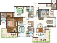 3 BHK luxurious apartments in Noida expressway